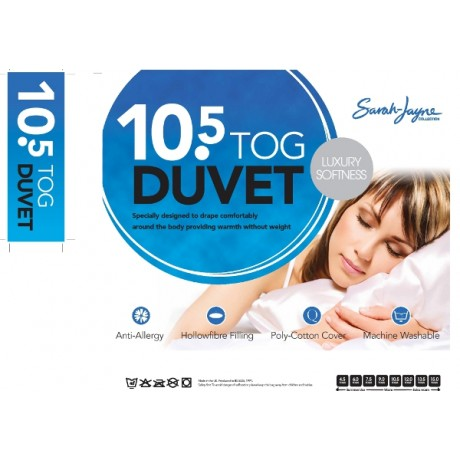 10 5 Tog Hollowfibre Duvets At Wholesale Discounted Prices