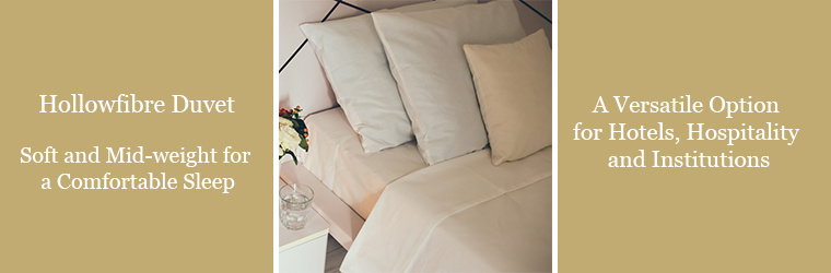 Hollowfibre Duvets 15.0 Tog Hollowfibre Filling