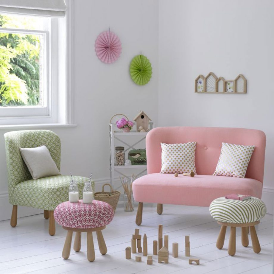 childrens pink bedroom idea