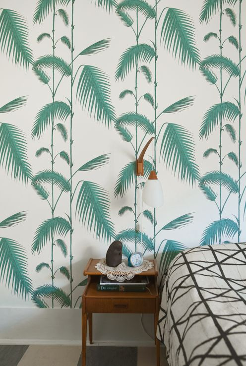 green print wallpaper inspiration