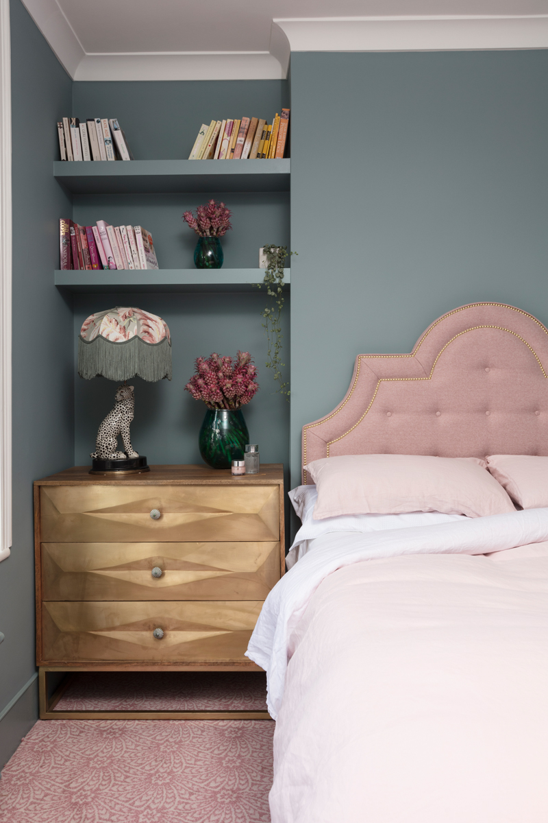 modern pink bedroom inspiration