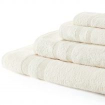 HOTEL QUALITY TOWELS 100% COTTON 500GSM (LIGHT COLOURS)