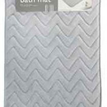 MEMORY FOAM BATH MATS CHEVRON
