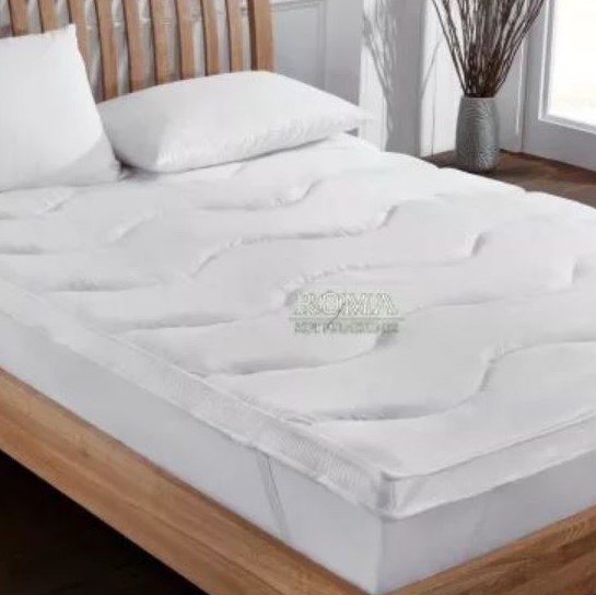Buy hollowfibre temperature control mattress topper