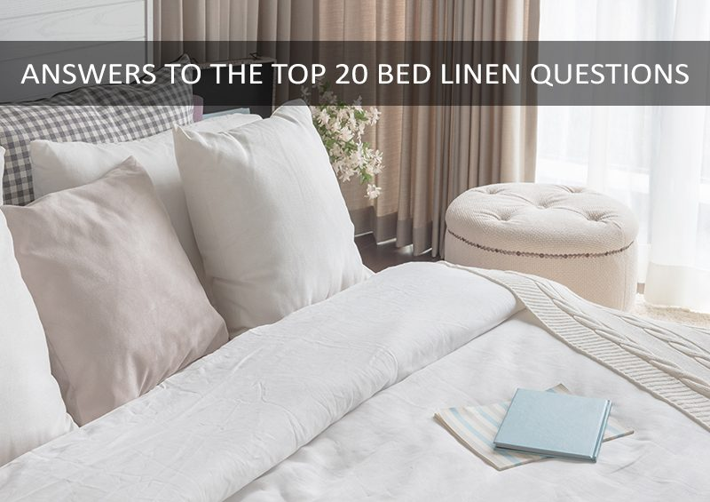 bed linen guide