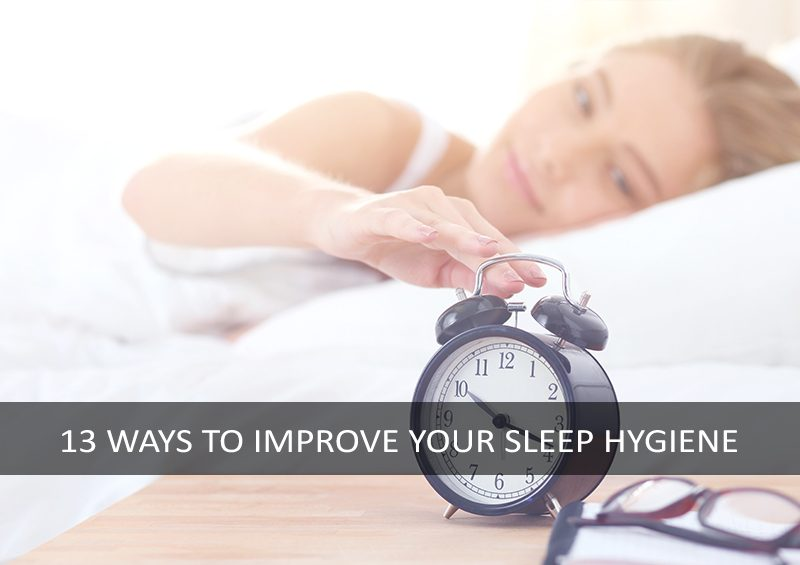 Tips for good sleep hygiene