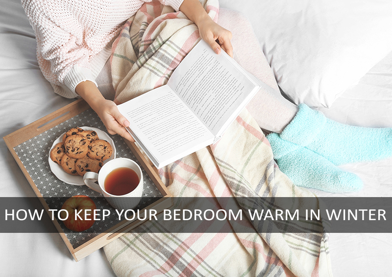 how to warm bed in winter