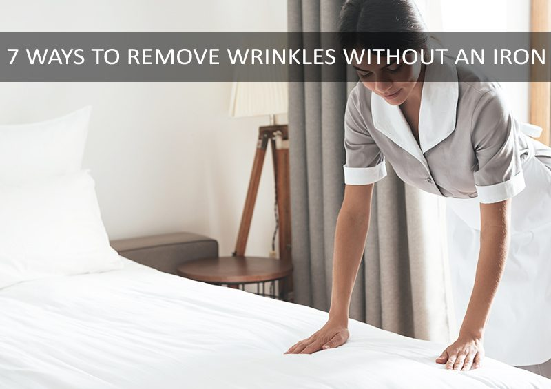 remove wrinkles without an iron