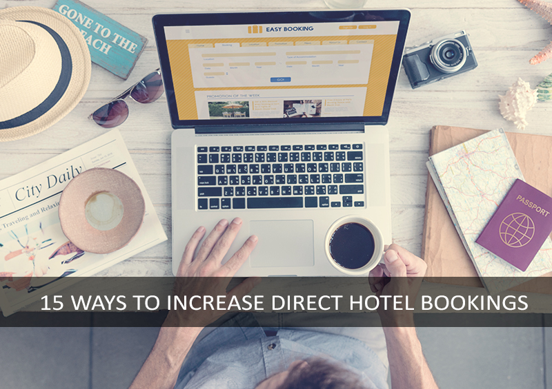How to get more direct bookings hotel