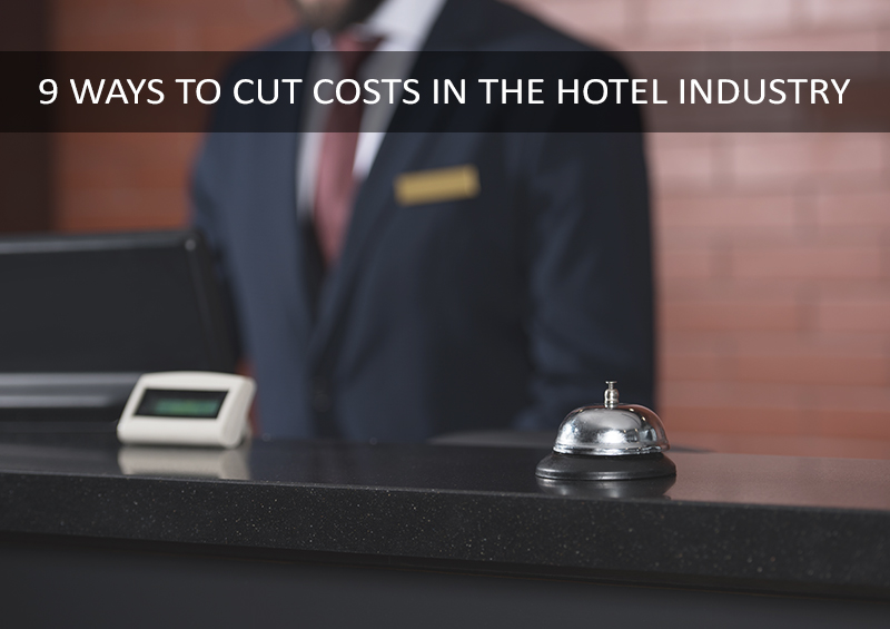 how to reduce cost in hotel industry