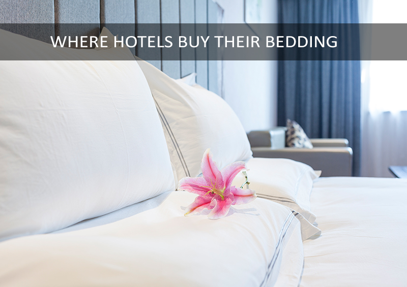 Where Hotels Buy Bedding